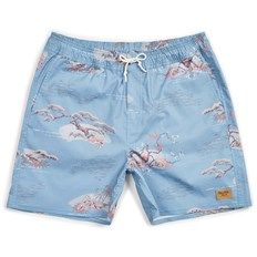 plavky BRIXTON - Havana Trunk Blue Dream (BLDRM)