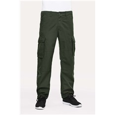 nohavice REELL - Cargo Ripstop Forest Green 160 (160)