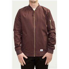 bunda REELL - Flight Jacket Aubergine (AUBERGINE)