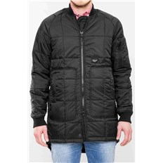 kabát REELL - Flight Coat Black Black (Black )