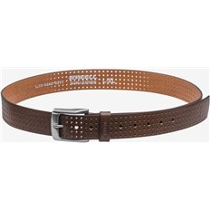 opasok REELL - Punched Belt Brown  (Brown )