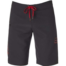 plavky FOX - Overhead Boardshort Black/Red (017)