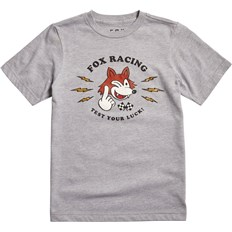 tričko FOX - Youth Test Your Luck Ss Tee Light Heather Grey (416)