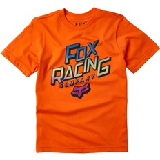 tričko FOX - Youth Cruiser Ss Tee Orange Flame (104)