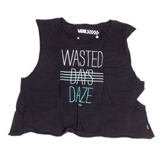 tielko VANS - Wasted Daze Croppe Black (BLK)