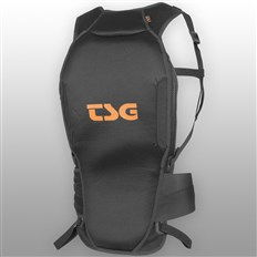 chrániče TSG - Backbone Tank D3O Black Orange (114)