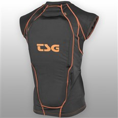chrániče TSG - Backbone Vest D3O Black Orange (114)