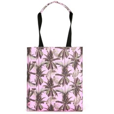 taška MI-PAC - Shopper North South Palm Trees-Pink  (S02)