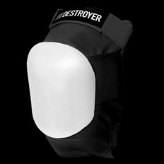 chránič DESTROYER - Am Knee Black/White (BWT)