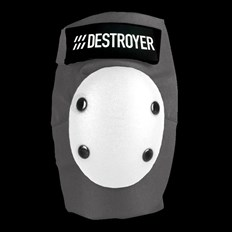 chránič DESTROYER - Pro Elbow Grey/White (GRW)