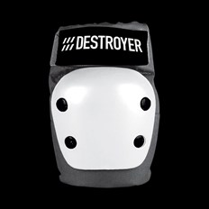 chránič DESTROYER - Rec Elbow Grey/White (GRW)