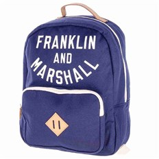 batoh FRANKLIN & MARSHALL - Varsity backpack - dark blue solid (25)