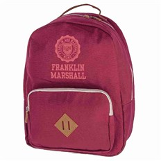 batoh FRANKLIN & MARSHALL - Classic backpack - bordeaux solid (30)