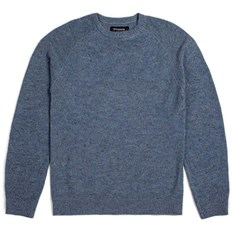 sveter BRIXTON - Anderson Sweater Blue (BLUE)