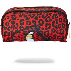 peračník SPRAYGROUND - Red Leopard Lips Pencil Case (MULTI)