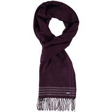 šál BENCH - Woven Check Scarf Dark Burgundy (BU017)