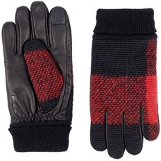 rukavice BENCH - Leather & Knit Glove Black Beauty (BK11179)