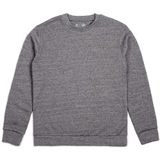 mikina BRIXTON - Basic Crew Fleece Heather Grey (HTGRY)