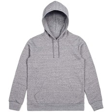 mikina BRIXTON - Basic Hood Fleece Heather Grey (HTGRY)