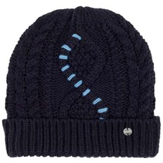 čiapka BENCH - Cable Knit Beanie Essentially Navy (BL11341)