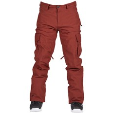 nohavice BONFIRE - Tactical Pant Burgundy (BUR)