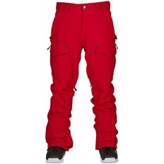 nohavice BONFIRE - Zone Stretch Pant Red (RED)