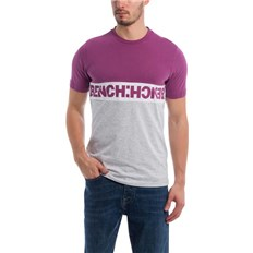 tričko BENCH - Colorblock Tee Grape Kiss (PU11465)
