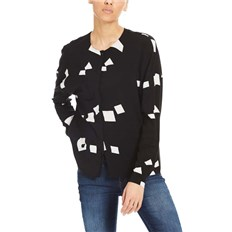 BENCH - Woven Mix Shirt Simple Graphic Black Beauty +  (P1087)