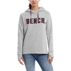 BENCH - Logo Hoody Summer Grey Marl (MA1026)
