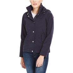 BENCH - Cotton Jacket With Quilted Hood Essentially Navy (BL11341)