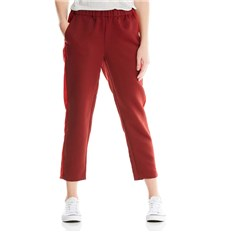 nohavice BENCH - Track Satin Pant Cabernet (RD11343)
