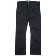 nohavice GRIZZLY - Grizzly Premium Chino Black (BLK)