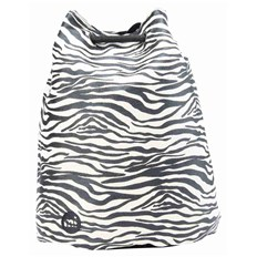 kabelka MI-PAC - Swing Bag Canvas Zebra Black/White (004)