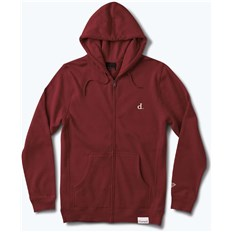 mikina DIAMOND - Mini Un Polo H17 Zip Hood Burgundy (BUR)