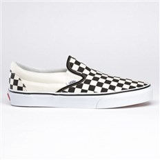 topánky VANS - Classic Checker/White (BWW)
