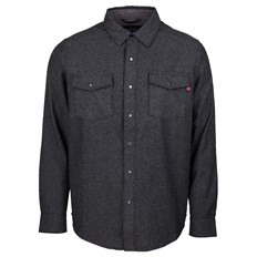košela INDEPENDENT - Mill Shirt Charcoal Heather (CHARCOAL HEATHER)