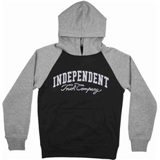 tričko INDEPENDENT - Letterman Black/Dark Heather (BLACK DARK HEATHER)