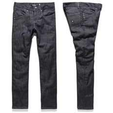 nohavice KREW - K Skinny Denim Raw Blue (RAW)
