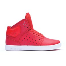 boty SUPRA - Kids Atom Red-White (RED)