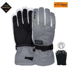 rukavice POW - Ws Crescent Gtx Long Glove Ash (AS)