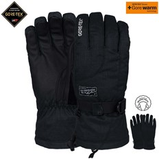 rukavice POW - Ws Crescent Gtx Long Glove Black (BK)