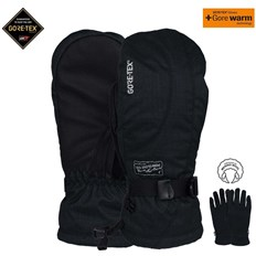 rukavice POW - Ws Crescent Gtx Long Mitt Black (BK)