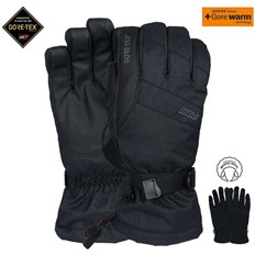 rukavice POW - Warner Gtx Long Glove Black (BK)