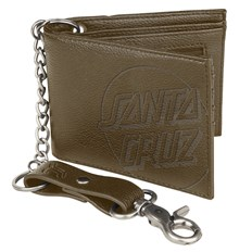 peňaženka SANTA CRUZ - Opus Dot Chain Wallet Brown  (BROWN )