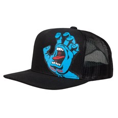 šiltovka SANTA CRUZ - Youth Screaming Hand Cap Black (BLACK)