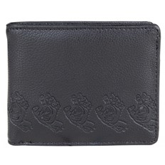 peňaženka SANTA CRUZ - Screamer Wallet Black (BLACK)