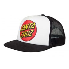 šiltovka SANTA CRUZ - Youth Classic Dot Cap White/Black (WHITE-BLACK)