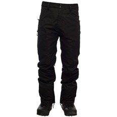 nohavice SESSIONS - Agent Pant Black (BLK)