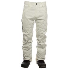 nohavice SESSIONS - Agent Pant White (WHT)