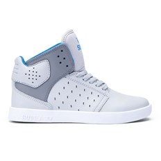 boty SUPRA - Kids Atom Light Grey/Charcoal-White (GCH)